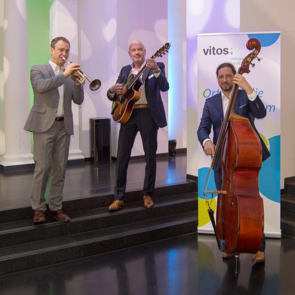 100 Jahre Vitos OKK – Event mit Knut Richter Trio