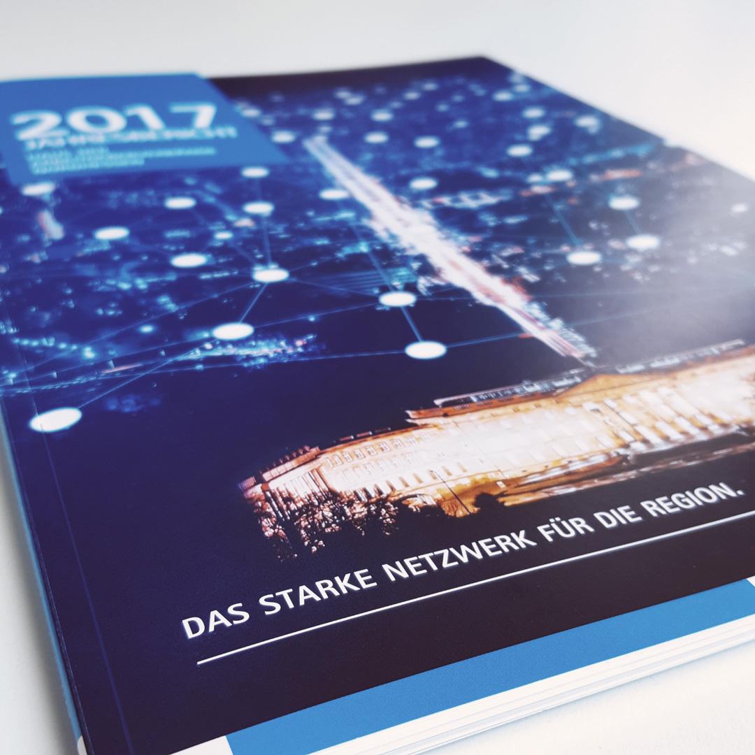 Umschlag Cover Jahresbericht 2017 AGV Kassel