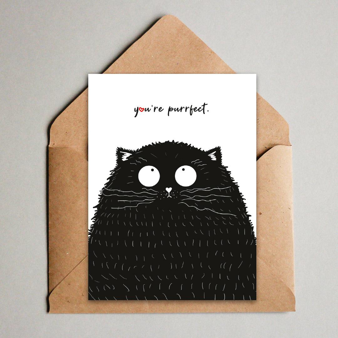 Mehr als Cat Content: Unsere Valentinskarten als PDF zum Ausdrucken