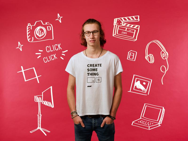 Jonas Ludewig, Praktikant bei der PAC Werbeagentur 2018-2020