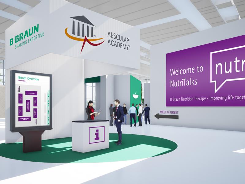 Lobby des digitalen Events NutriTalks